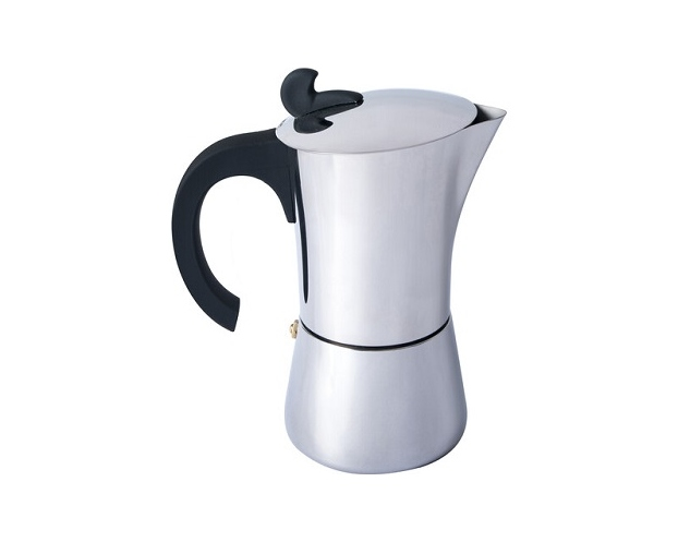 Basic Nature Stainless Steel Espresso Maker