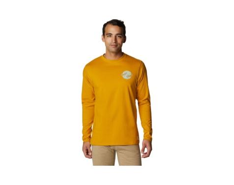 Mountain Hardwear Keltainen Pitkähihainen Kiipeilypaita